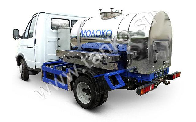 Автоцистерна молоковоз на базе ГАЗ-33021