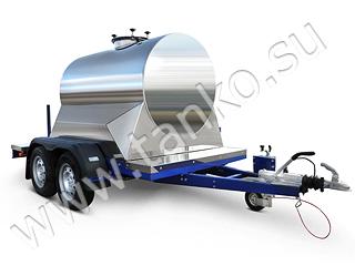 цистерна на прицепе 1200 литров