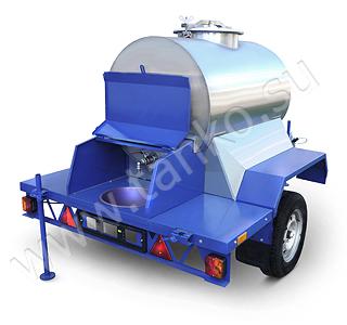 автобочка для перевозки и торговли 450 литров квас молоко вода