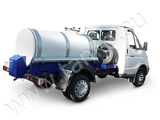 Молоковоз автоцистерна Подвоз воды емкость под воду на машине