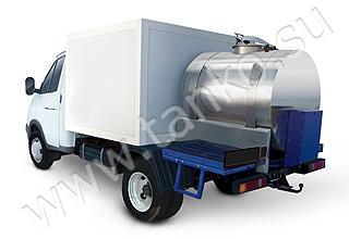 комбинированная ГАЗель гибрид цистерна и фургон перевозка и продажа