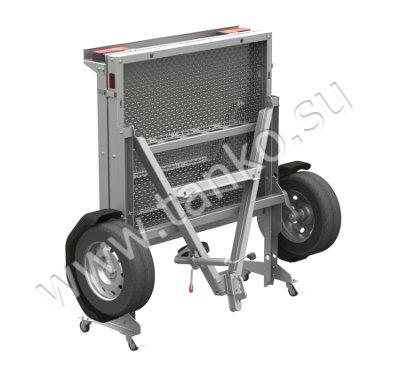 Разборный прицеп грузовой оцинковка