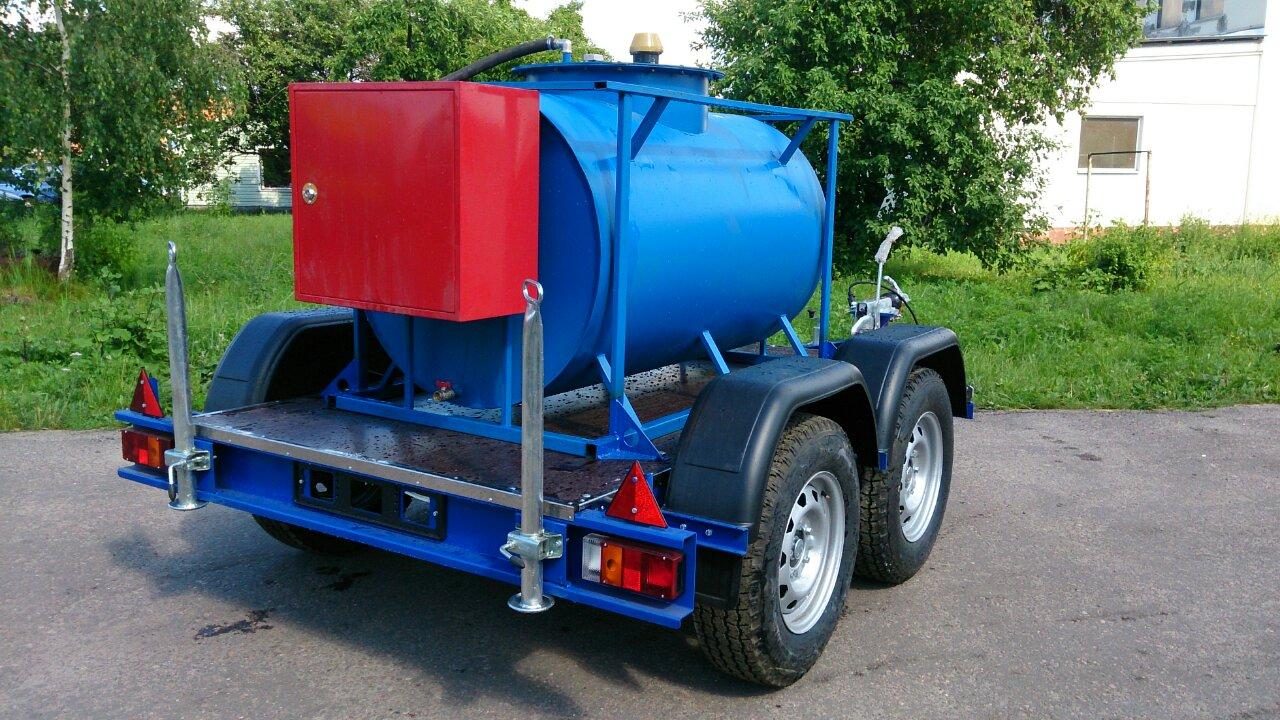 Мобильный топливный модуль 950 литров