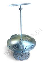 Перемешивающее устройство механическое для молочных цистерн