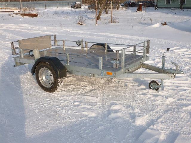 Легковой прицеп под квадроцикл. Прицеп для перевозки груза до 750 кг.